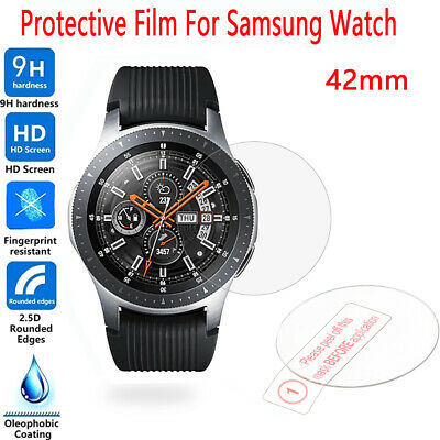 2 x Tempered Glass Film Screen Protector for Samsung Galaxy Watch 46mm 42mm