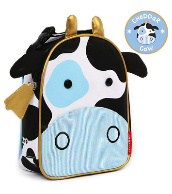 Skip Hop Zoo Lunchie Insulated Kids Lunch Bag - Cheddar Cow