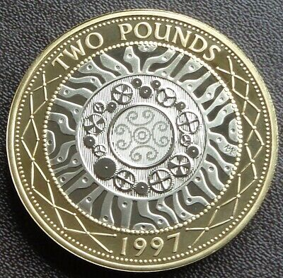 1997 - 2020 Elizabeth II £2 TWO Pound Coin Proof - Choose Your Year