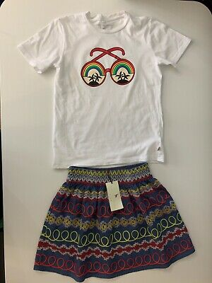 Stella Mccartney kids NEW Outfit Set Skirt & Top Age 12 Years Bnwts Girls
