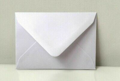 "C6 Envelopes Pearl White 114x162 4x6"" For Greeting Card Wedding Invitations"
