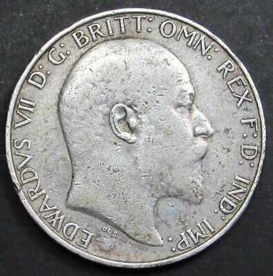 KING EDWARD VII  SILVER  FLORIN/ TWO SHILLINGS COIN dated 1902