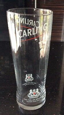 1x New Rare Fosters Pint Glass CE Mark Collar around top /& Logo on Base