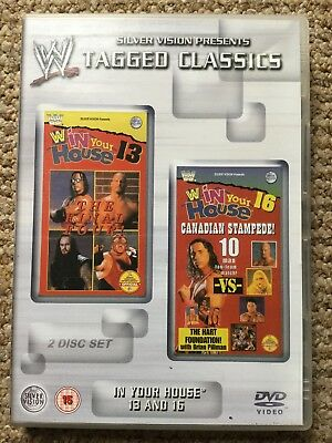WWE Tagged Classics - In Your House 13 & 16  DVD WWF Rare