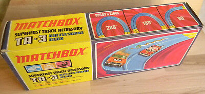 TA-3 RATTLESNAKE BEND Matchbox Superfast Vintage NEW OVP 1970th MIB Toy Racing
