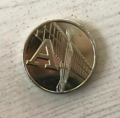 A-Z 10p Alphabet 10p COIN 2019 LETTER A  ANGEL OF THE NORTH LATEST RELEASE 2019