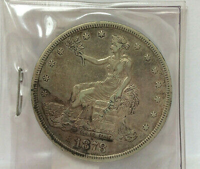 1878-S T$1 * US TRADE DOLLAR * Silver Coin * Seated Liberty