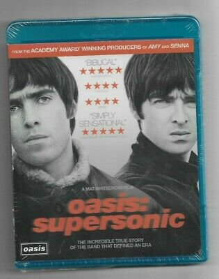 Brand New Sealed BLU-RAY Disc - OASIS SUPERSONIC - True Story Of The Band