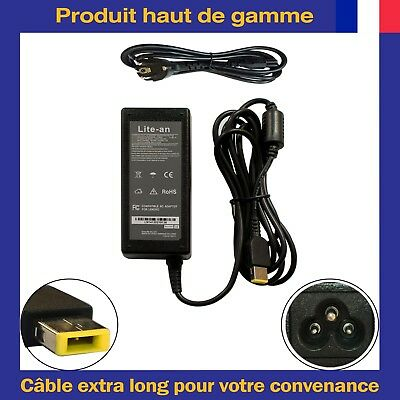 Chargeur d'Alimentation 65W Pour Lenovo IdeaPad 305-15IBY Model 80NK 500S-14ISK