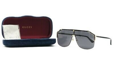 ab336e8d54c GUCCI Women s Black Oversized Square Sunglasses w case GG 0219S 001 99mm