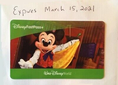 1 Day Walt Disney World Park Hopper Ticket Fast Pass +