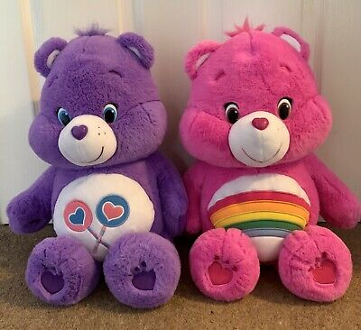 2x Large Care Bear - Soft Toy/Teddies - Approx 20inches