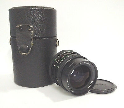 [TESTED] [VGC, Cased] Rolleinar-MC 35mm f/2.8 Fast Wide Angle Prime Lens QBM Fit