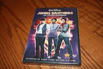 Jonas Brothers - The Concert Experience (DVD, 2009) Disney Brand New