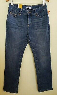 Lee Perfect Fit Seattle Straight Leg Stretch Jeans below waist 10 Medium NEW