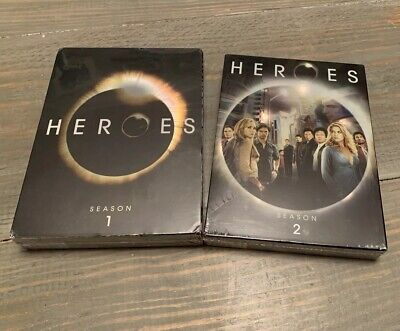 Heroes Tv Show Season One And Two Seasons Full Sealed DVD Set New Unopened 1 2