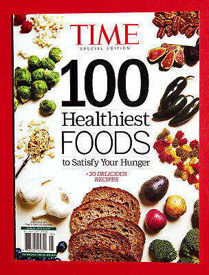 TIME Special Edition BOOK - 100 Healthiest Foods To Satisfy Your Hunger 2019