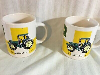 John Deere Coffee Mug Pair