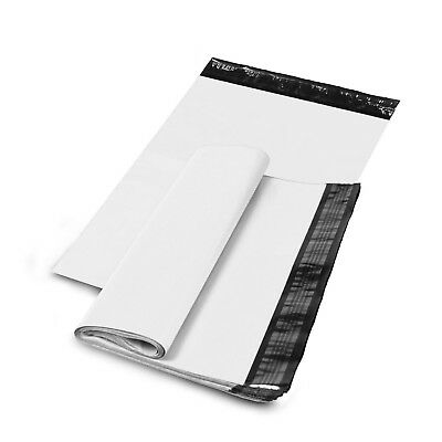 "6"" x 9"" SHIPPING ENVELOPES POLY MAILERS SELF SEALING MAILING BAGS PLASTIC WHITE"