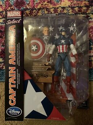 Marvel Select Captain America Figure Liberty /& Justice For All Disney exclusive