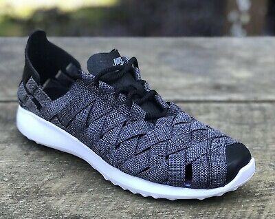 quality design 8289b 81ad5 Women Nike Juvenate Woven PRM 833825 004 SIZE 8.5 Black Cool Grey White