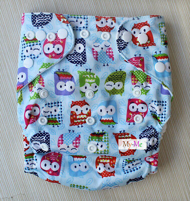 Baby One Size Cloth Diaper For Boy/Girl Reusable Pocket Nappy Newborn Adjustable