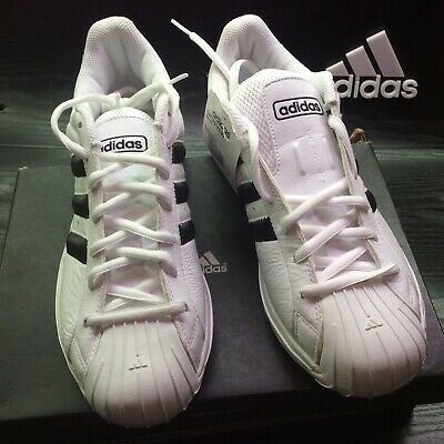 2e382373b4fe adidas superstar SS2G US 11.5 White leather Black stripes New with tags
