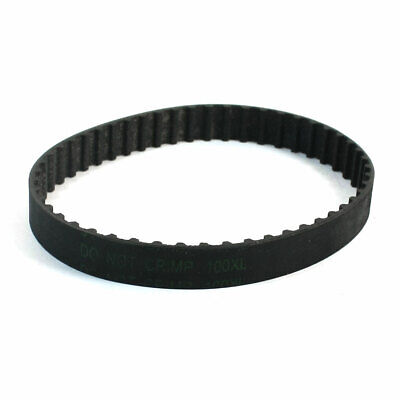 "5.08mm Pitch 10"" Girth 10mm Width 50 Teeth Machine Timing Belt 100XL"