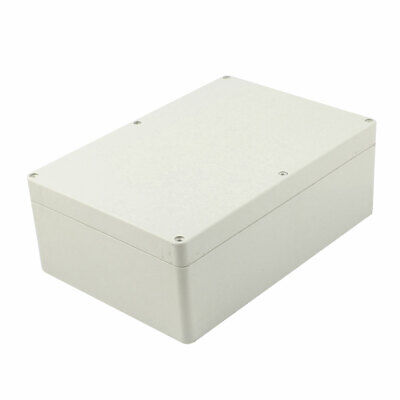 265mm x 185mm x 95mm Plastic Outdoor Electrical Enclosure Junction Box Case Gray