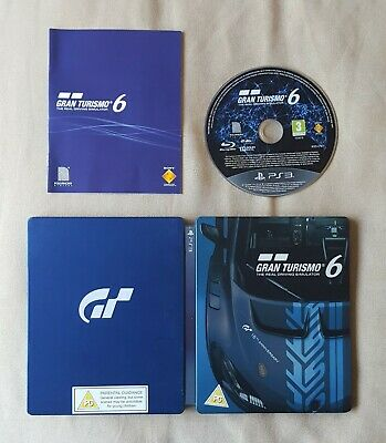 PS3 Game - Gran Turismo 6 Steelbook Limited Edition