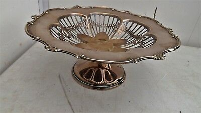 Mappin & Webb Silver plated Fruit/sweet dish