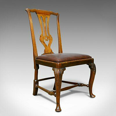 Georgian Antique Chair, English, Mahogany, Mid Eighteenth Century