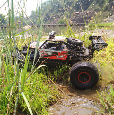 RC 1/18 2.4G 2WD 16KM/h Rock Crawler Buggy Car Toy Festival Gift For Child Kids