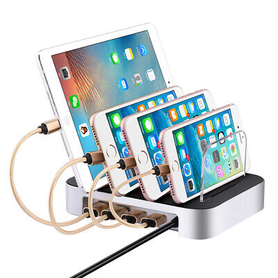 4/6 ports Universel USB rapide Chargeur station pour iPhone Samsung Huawei EU fr