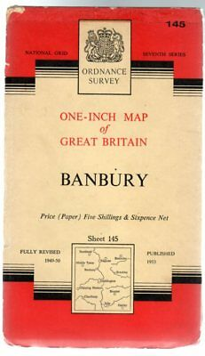 Ordnance Survey  One-Inch Map of Great Britain - Sheet   145 - Banbury, Anon