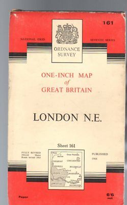 Ordnance Survey  One-Inch Map of Great Britain Sheet  161 London N.E.., Anon