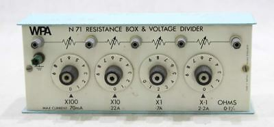 WPA N71 Vintage Resistance Box and Voltage Divider