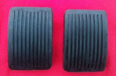 Triumph 2000 2500 2.5 manual Brake and Clutch Pedal Rubber Pads new pair