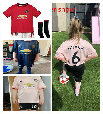 18/19/20 Soccer Suits Football Kits Training Shirts Jerseys For Kids &Adult