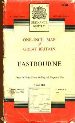 Ordnance Survey One-Inch Map of England & Wales Sheet 183 Eastbourne, Anon