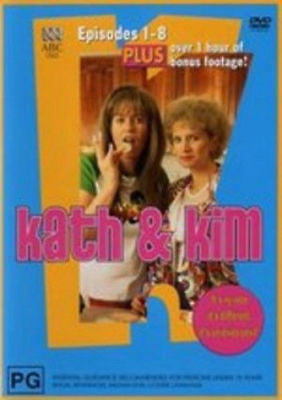 Kath And Kim Episodes 1 To 8 Dvd=2 Disc Set=Region 4 Aust Release=New And Sealed