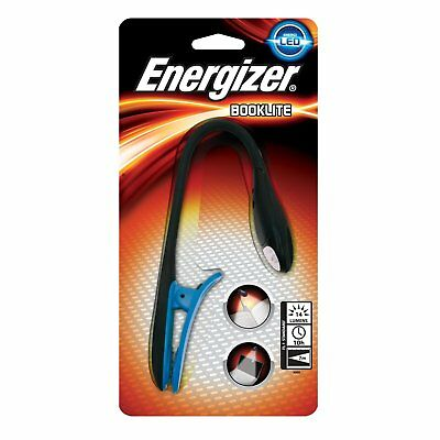 Energizer LP37911 LED Booklite Clip On Reading Light uses 2x CR2032 lithium coin