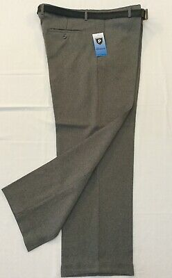 Mens Trousers New Formal With Belt Polyester Brand New