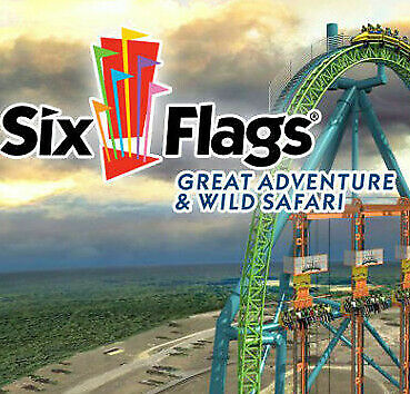 Six Flags Great Adventure Nj Tickets $30 A Promo Discount Tool Parking Meal Deal