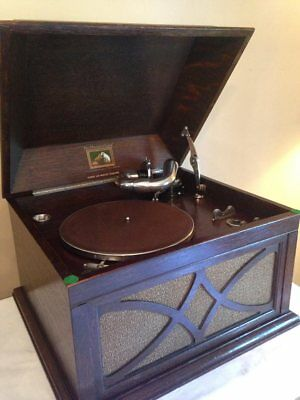 Gramophone HMV 104 Circa 1920/1925 soundbox 5A ( video online )