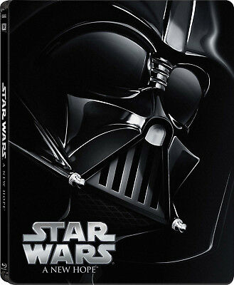 Star Wars IV: A New Hope (1977) Limited Edition Steelbook (Blu ray)