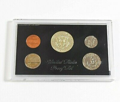Cased USA United States Of America 1969 Proof Coin Set