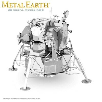 Fascinations Metal Earth Apollo Lunar Module NASA Moon Lander Laser Cut 3D Model