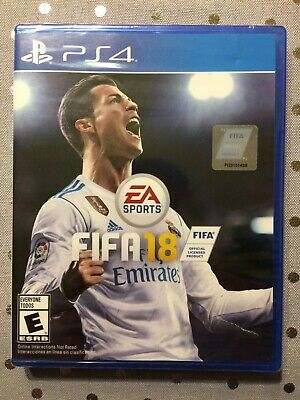 NEW PS 4 FIFA 18 PLAYSTATION 4 FACTORY SEALED Video Game