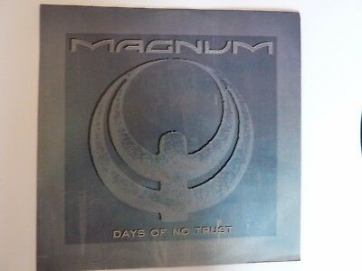 "Magnum Days Of No Trust 12"" Single In Excellent Condition"